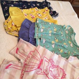 3 Carter's 1 Jumping Beans outfits 18 months cute